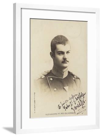 Alexander I--Framed Photographic Print