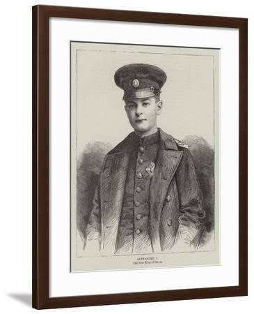 Alexander I--Framed Giclee Print