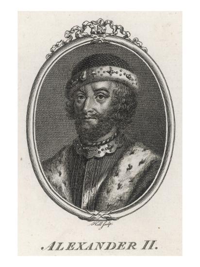 Alexander II King of Scotland 1214-1249--Giclee Print