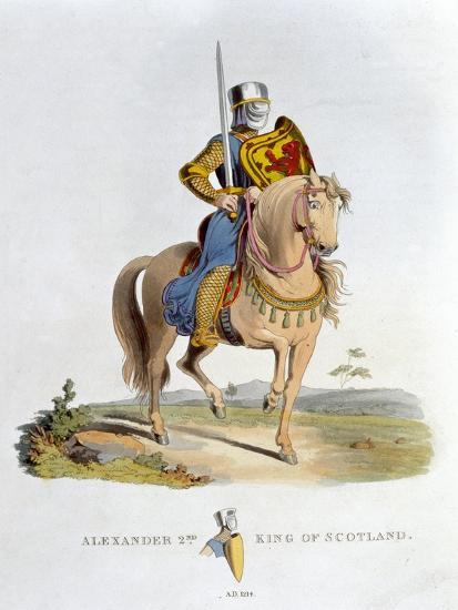 Alexander II, King of Scotland, (1824)-Unknown-Giclee Print