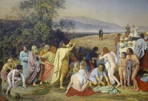The Appearance of Christ to the People (The Appearance of the Messiah), 1837/57 by Alexander Iwanow