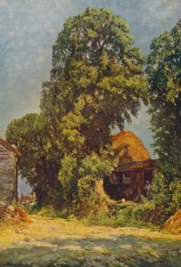 'A Hot Day On The Lower Icknield Way', 1935 by Alexander Jamieson
