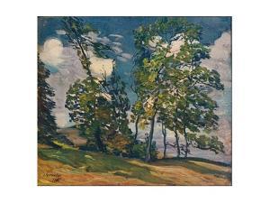 'A Windy Day', c1906 by Alexander Jamieson
