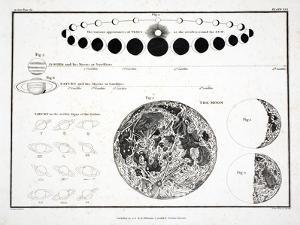 The Moon, Venus and Saturn by Alexander Jamieson