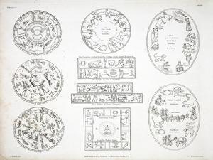 Various Representations of the Zodiac by Alexander Jamieson