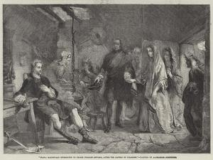 Flora Macdonald Introduced to Prince Charles Edward, after the Battle of Culloden by Alexander Johnston
