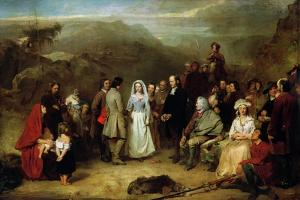 Marriage of the Covenanter by Alexander Johnston