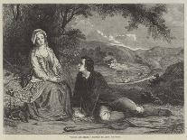 A Scene from 'The Lady of the Lake'-Alexander Johnston-Giclee Print