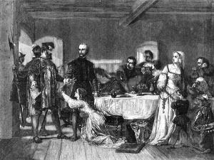 The Arrest of John Brown of Ashford, a Lollard, 1517 by Alexander Johnston