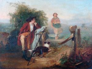 The Gentle Shepherd by Alexander Johnston