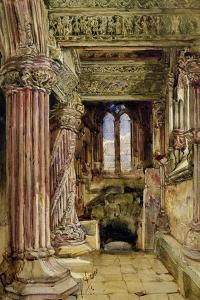 Rosslyn Chapel, Scotland by Alexander Junior Fraser