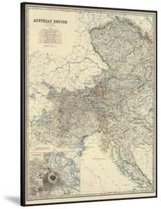 Austria West, c.1861 by Alexander Keith Johnston