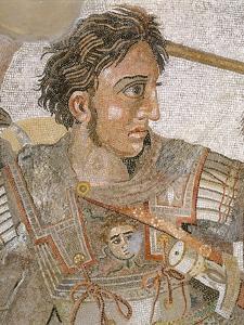 Alexander, King of Macedon, from Battle of Issus between Alexander the Great and Darius III