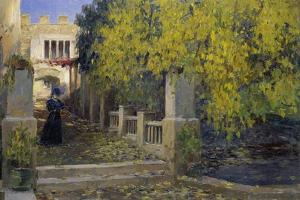 Moralt in Autumn by Alexander Koester