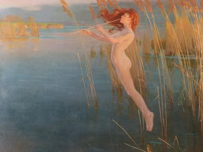 The Long Cry of the Reeds at Even, 1896 by Alexander Mann