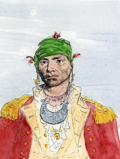 Alexander Mcgillivray, Creek Leader, Late 1700s--Giclee Print