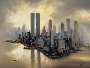 Reflections of Manhattan by Alexander Moore
