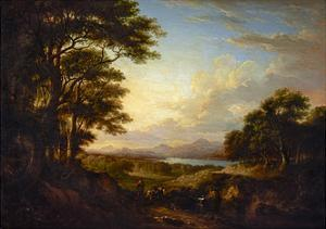 Distant View of Stirling, 1827 by Alexander Nasmyth