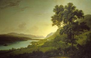 Loch Ness and Dochfour House by Alexander Nasmyth