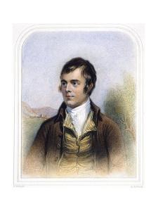 Robert Burns (1759-1796) by Alexander Nasmyth