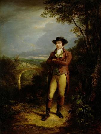 Robert Burns (1759-96), 1828 (Panel)