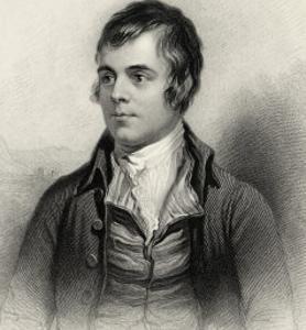 Robert Burns Scottish National Poet Portrait by Alexander Nasmyth