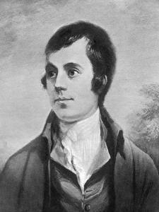 Robert Burns, Scottish Poet, 19th Century by Alexander Nasmyth