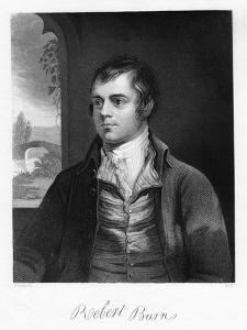 Robert Burns, Scottish Poet, Late 18th Century by Alexander Nasmyth