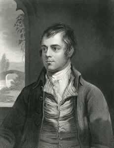 Robert Burns by Alexander Nasmyth
