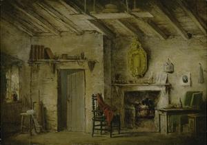 The Deans' Cottage, Stage Design for 'The Heart of Midlothian', C.1819 by Alexander Nasmyth