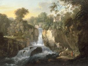 The Falls of Clyde by Alexander Nasmyth