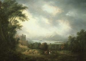 View of Loch Lomond by Alexander Nasmyth