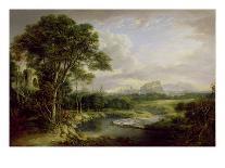 Loch Awe, Argyllshire, c.1780-1800-Alexander Nasmyth-Framed Giclee Print