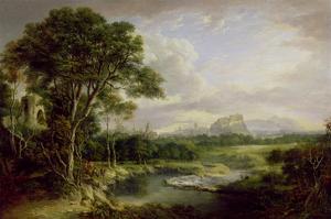 View of the City of Edinburgh, c.1822 by Alexander Nasmyth
