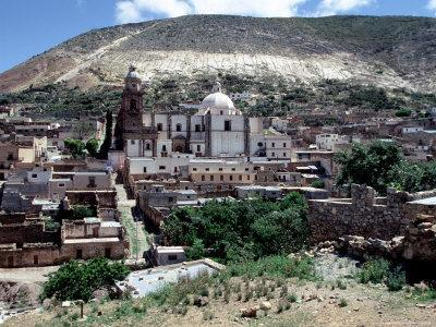 View of Real de Catorce, Mexico