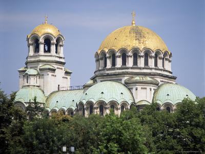 Alexander Nevski Cathedral, Sofia, Bulgaria-G Richardson-Photographic Print