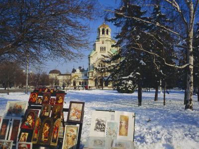 Alexander Nevski Cathedral, Sophia, Bulgaria-Tom Teegan-Photographic Print