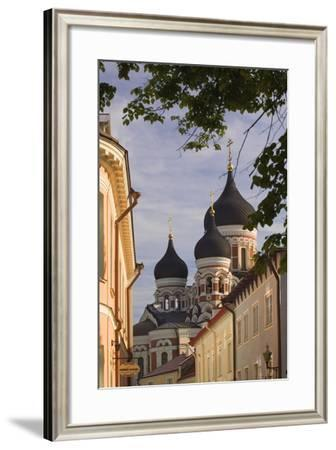 Alexander Nevsky Cathedral in Tallinn-Jon Hicks-Framed Photographic Print