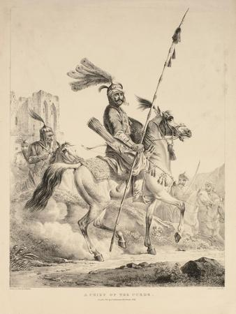 A Chief of the Kurds, 1824