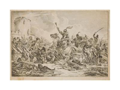 Battle Between the Georgians and the Mountain Tribes, 1826