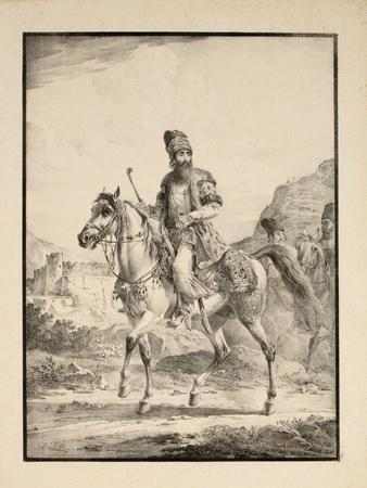 Persian on Horseback, 1820