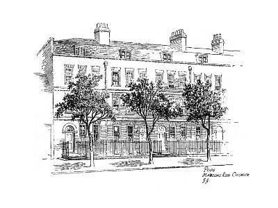 Alexander Pope, Mawson's Row, Chiswick, London, 1912-Frederick Adcock-Giclee Print
