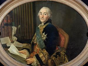Cesar-Gabriel De Choiseul-Chevigny (1712-85) Duc De Praslin, 1763 by Alexander Roslin