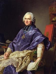 Joseph-Marie Terray (1715-78) Abbe De Molesmes, 1774 by Alexander Roslin