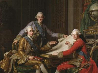 King Gustav III of Sweden and his Brothers, 1771