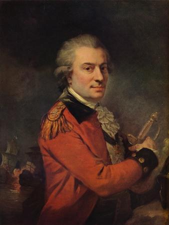 Portrait of Admiral De Suffren, 18th century, (1915)