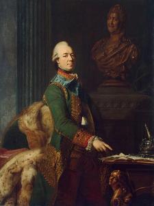 Portrait of Count Zakhar Chernyshov, Ca 1776 by Alexander Roslin