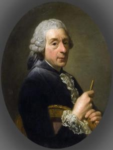 Portrait of François Boucher (1703-177) by Alexander Roslin