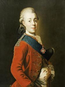 Portrait of Grand Duke Paul Petrovich (Future Tsar Paul I) by Alexander Roslin
