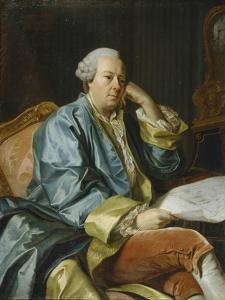 Portrait of Ivan Ivanovich Betskoi (1704-179), 1770S by Alexander Roslin